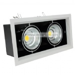 two heads led grille lamp COB